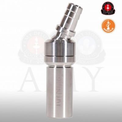 Amy Deluxe polerad adapter rostfritt stål med kulled