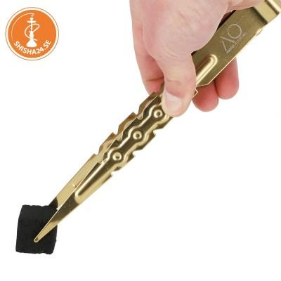 AO koltång rostfritt stål guld 22cm